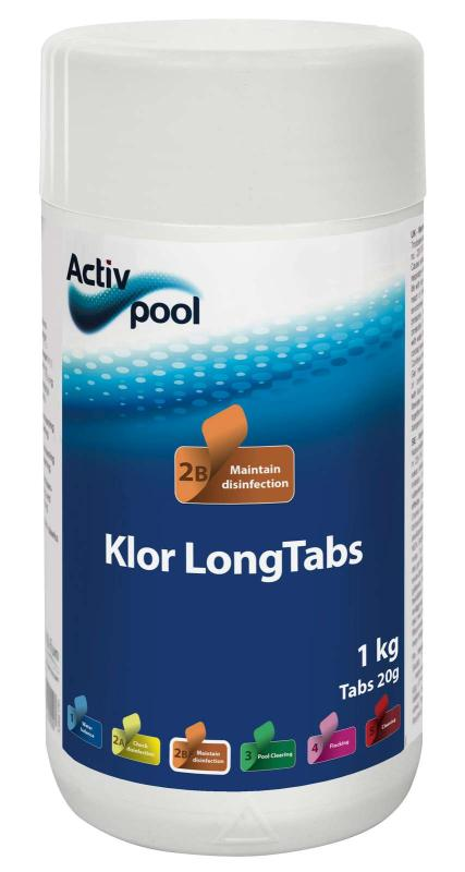 Klor LongTabs 20g
