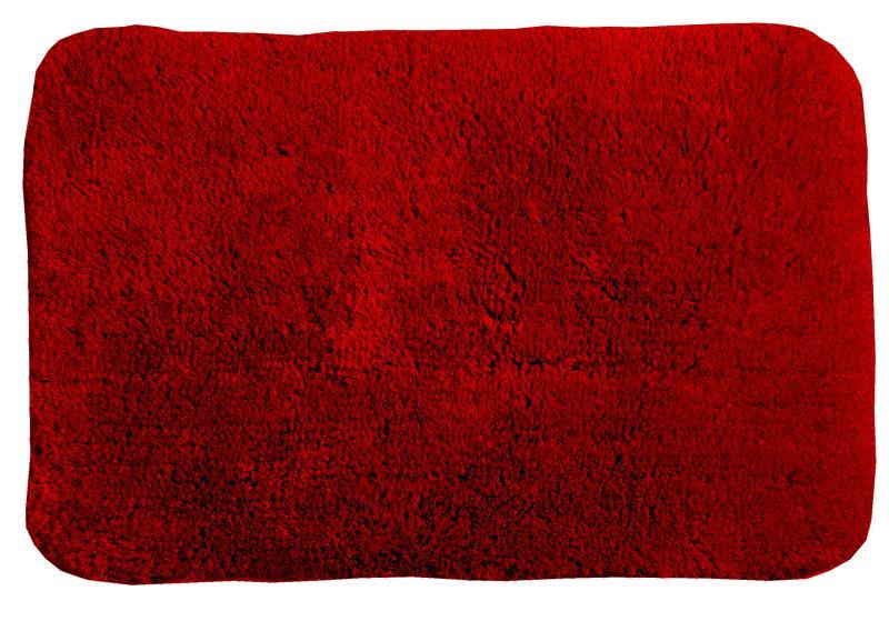 Badematte Indy 70X120 cm Rød