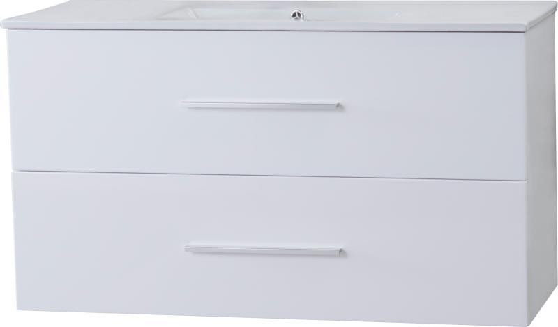 Malin Smal 100x40 hvit