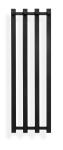 Håndkletørker Zaga 26x80 Svart Matt
