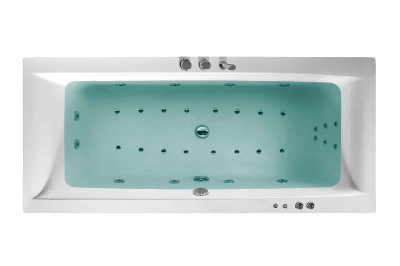 Nemo 180x80 badekar + Komfortpakke Design