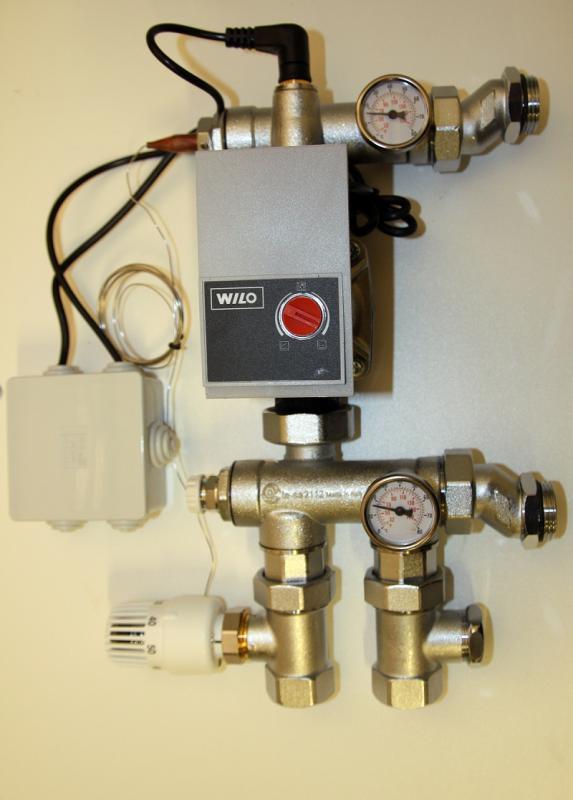 Kompaktshunt m/ Wilo trykkstyrt pumpe