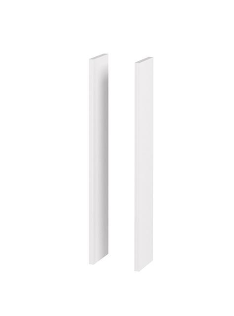 NewDay sidepanel hvit høyglans