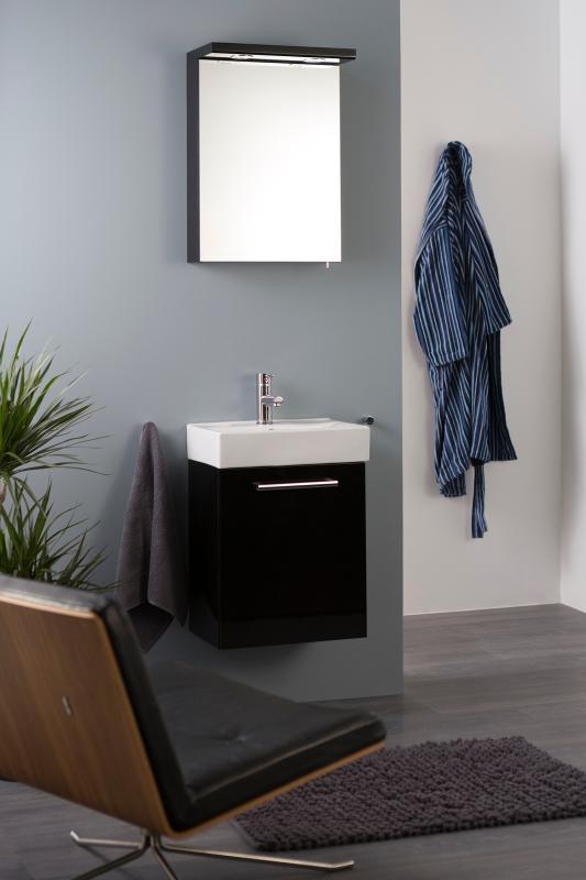 Quadro møblepakke 3-i-1 45 cm svart