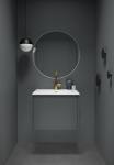 Form 60 cm Grå 25% på hele Form serien, gjelder også på runde speil ved kjøp av møbel