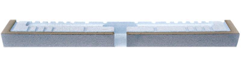 Montasjeelement Linje vegg 100 mm