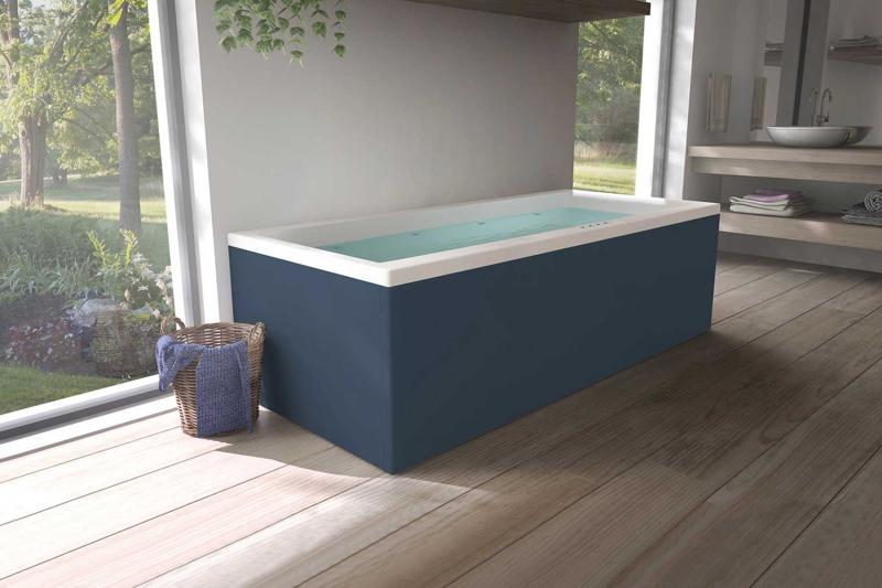 Nemo 180x80 badekar + Velværepakke Design