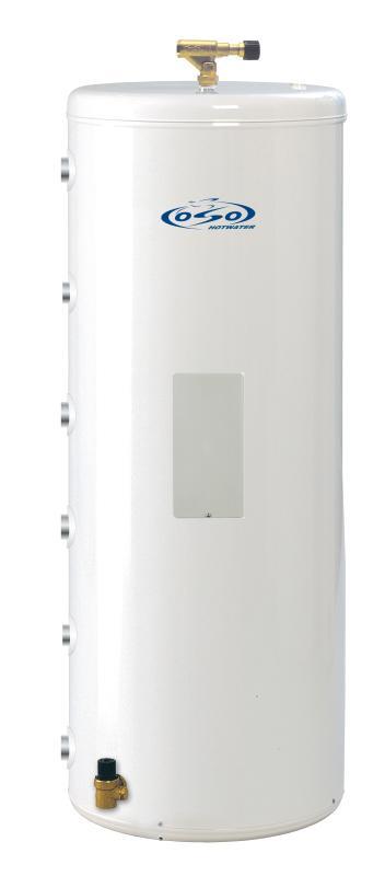 OSO Ecoline Twin Coil RI TC 100 - 3 kW + coil 0,7+0,7 m²