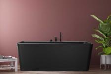 Saga Svart 165x80 badekar