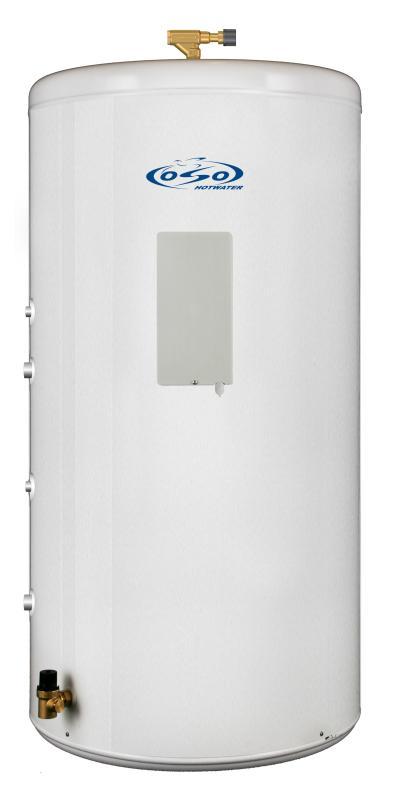 OSO Ecoline Geo RI HP 200 - 3 kW + coil 1,4 m²