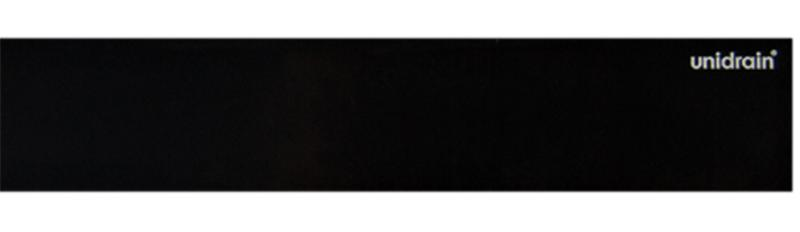 HighLIne Panel frostet glass Black 1200 mm