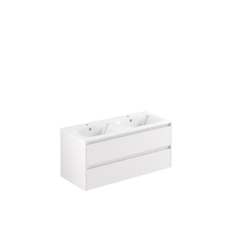 AllDay 120 dobbel hvit høyglans