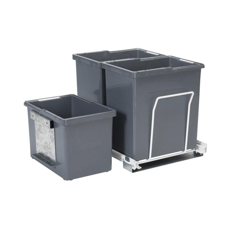 Alterna vaskerom avfallsløsning m/3 bøtter