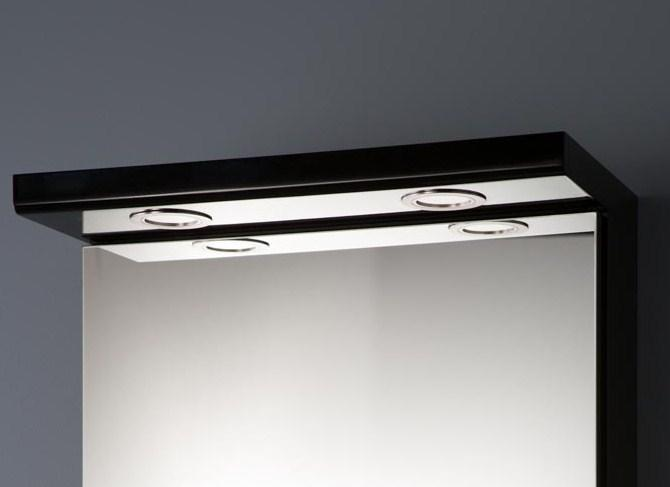 Quadro lystopp 45 cm svart