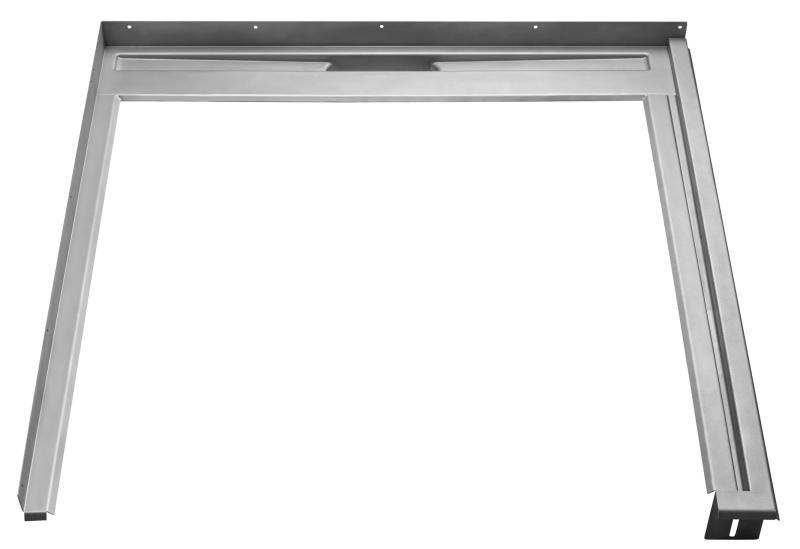 Fast modul til GlassLine Høyremontert dusjvegg 800 B 900 D