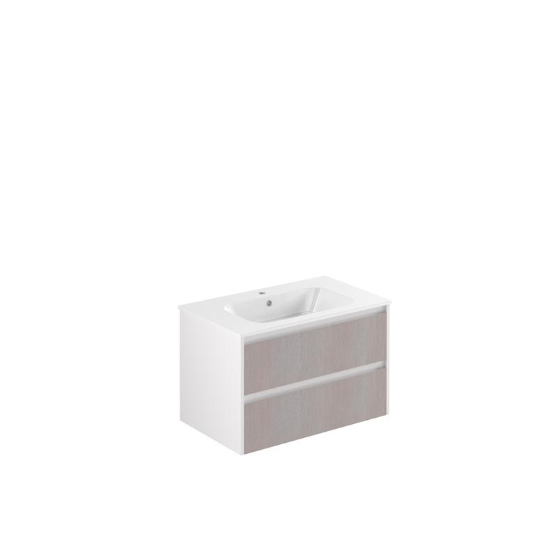 AllDay 85 tre+hvit høyglans