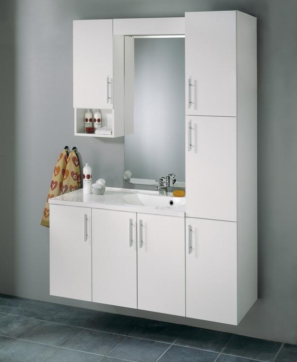 Badinett hvit 90 cm