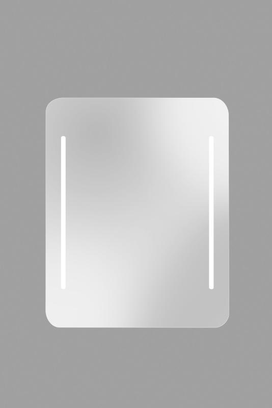 White 120x75cm m/LED-Lys