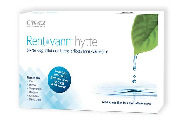 Rent vann® hytte