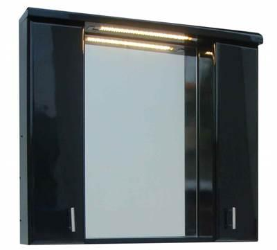 Skagerrak 70 m/LED lys, svart høyglans