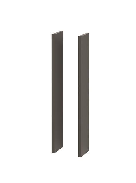 NewDay sidepanel grå høyglans
