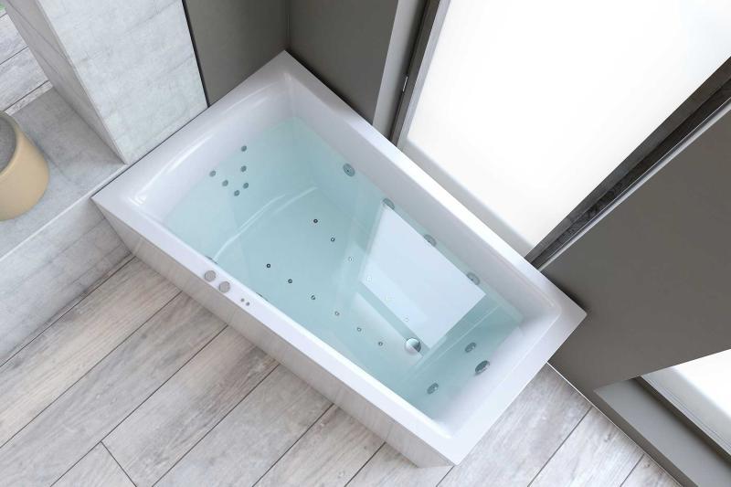Nemo 160x100/70 badekar, venstre