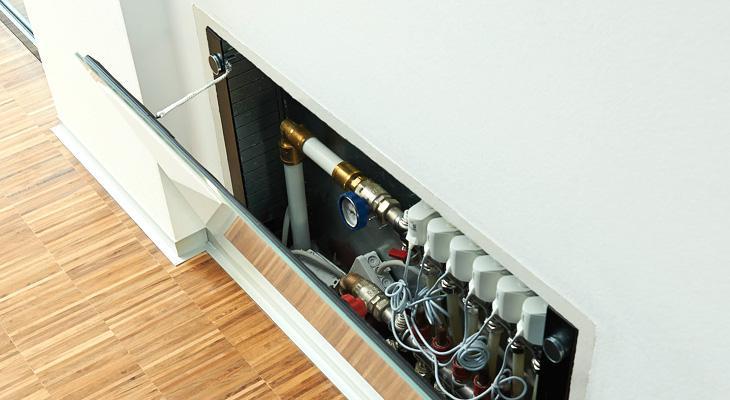 TECEfloor design gulvvarmeskap