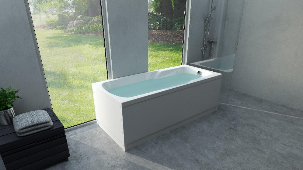 badekar 160x80 Odin badekar 160x80