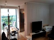16th floor view on the sea and city. 15 minutes walk to the beach