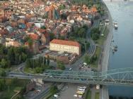 Bulwar - hotel Toruń