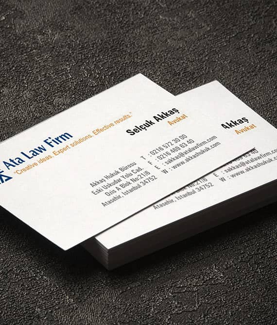 Kartvizit kurumsal