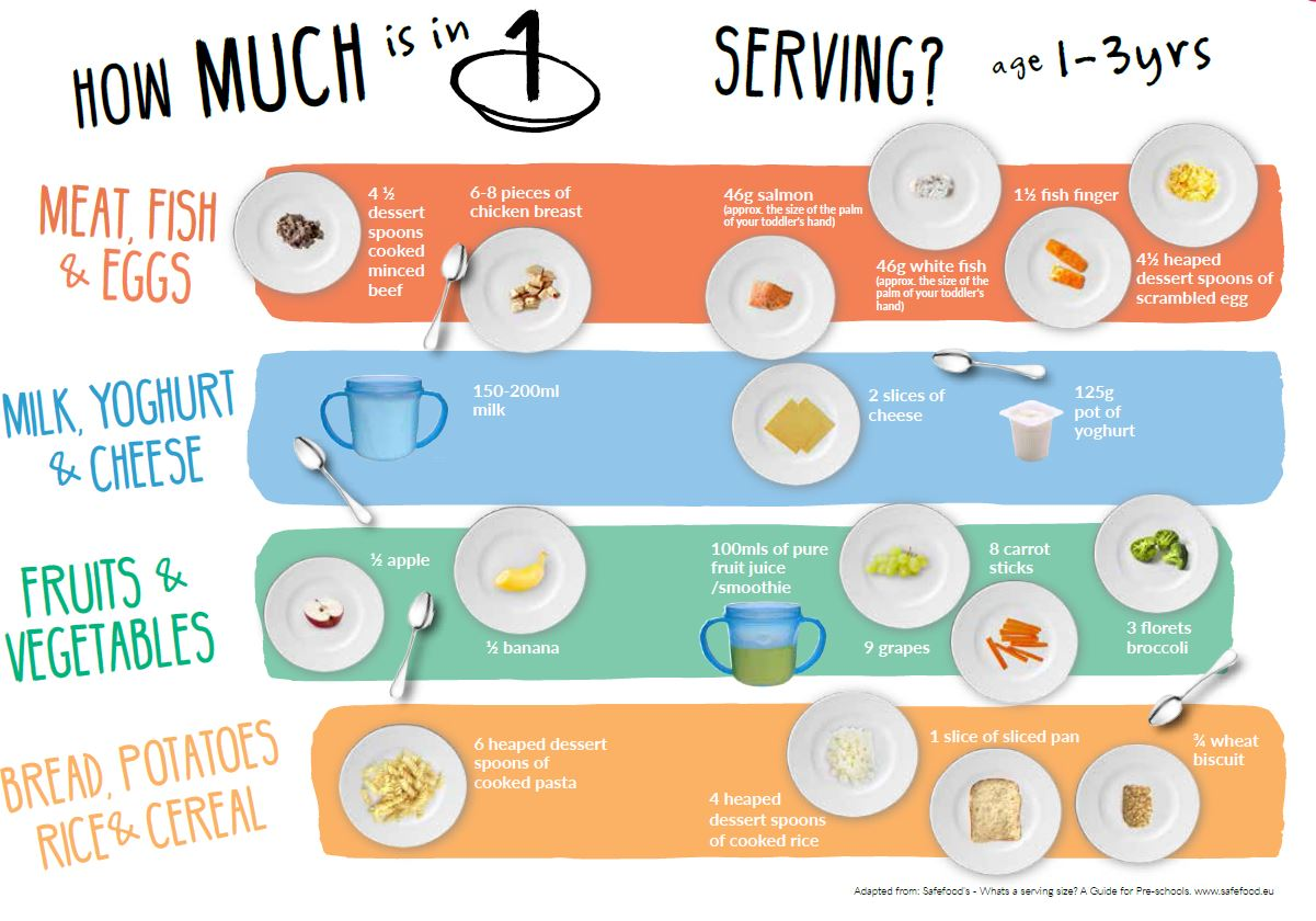 Getting Portion Size Right - Toddlebox