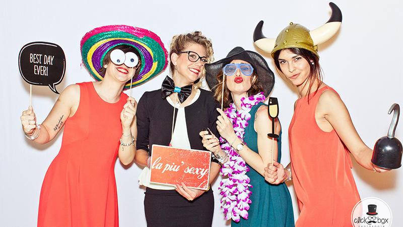 ClickBox Photo Booth: risate, fotografie e matrimoni!