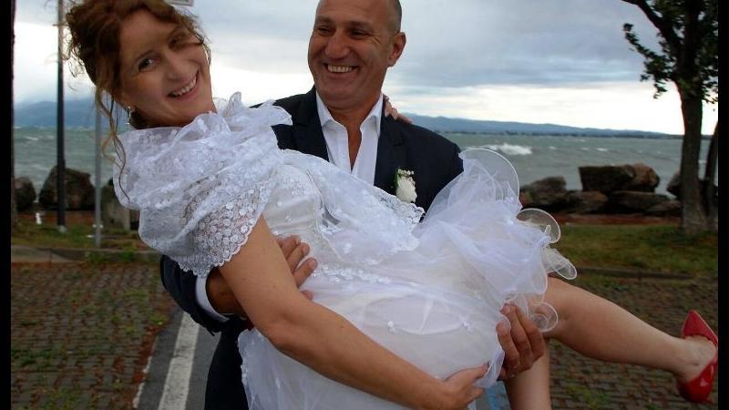 """Festa di nozze """"informale"""" per Alessandra e Davide"""