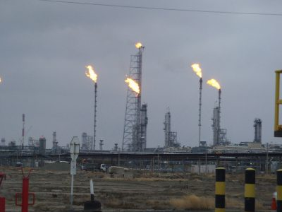 Kazakhstan oil refinery