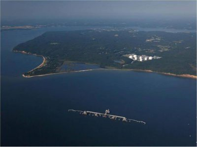 Cove Point LNG shipping terminal