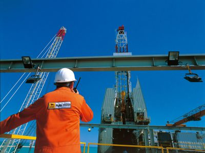 The Agip KCO drilling plant