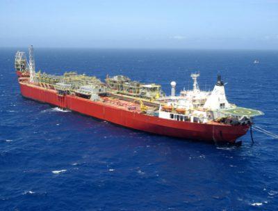 Shell's Fluminense FPSO offshore Brazil