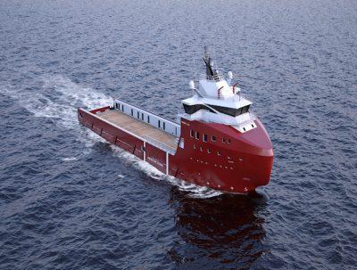 Vard platform supply vessel