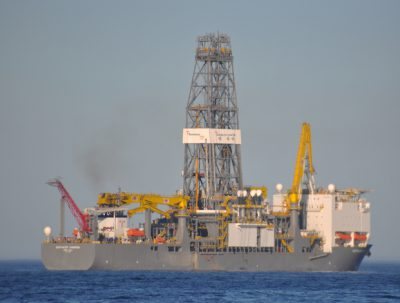 ExxonMobil will use Transocean's Deepwater Champion for its drilling campaign.