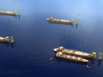 Floating LNG Vessels Gulf of Mexico