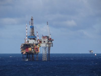 North Sea fields affected