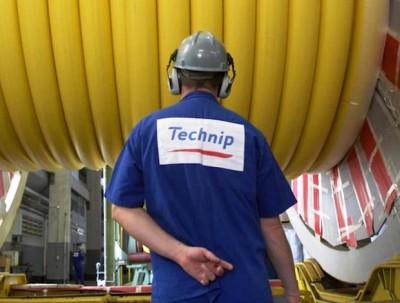 A Technip employee