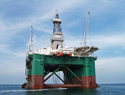 OMV's wildcat well in the Barents sea, drilled by the Leiv Eiriksson semi-submersible, has come up dry.
