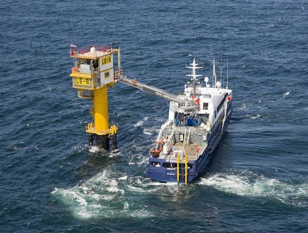 Wintershall gets gas from North Sea rig