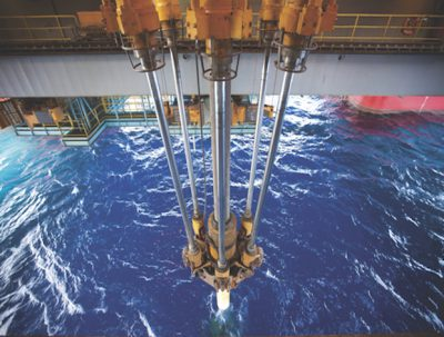 Offshore drill