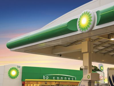 BP fuel retail station, photo courtesy of BP