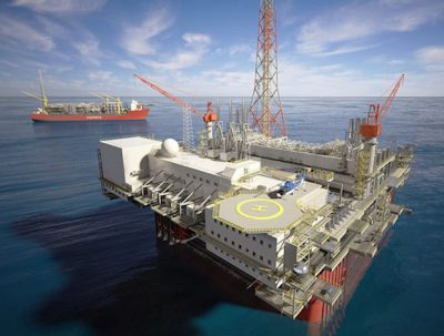Ichthys LNG Project central processing platform