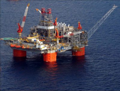 Gulf of Mexico rig
