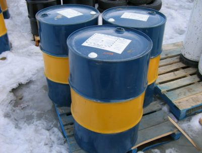 Barrels of fuel